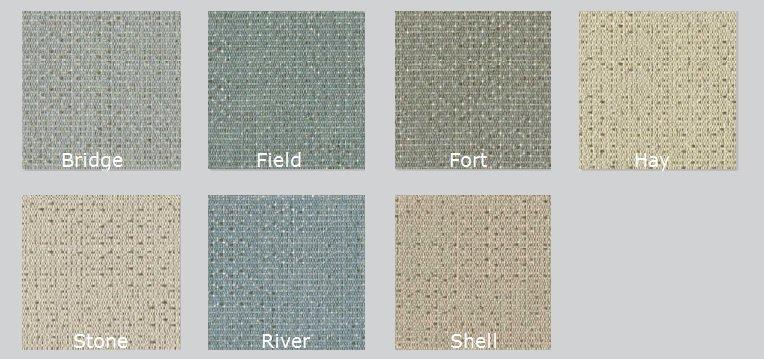 Color Options for Bix Acoustic Fabric