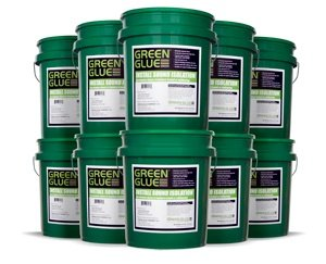 Green Glue Buckets