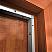 Adjustable Door Gasket with Neoprene Door Seal Applied on Wooden Door Frame Jamb