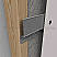 One Legged Resilient Channel Applied on Wooden Stud, Decoupling Drywall from Structure