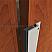 Aluminum with Sponge Neoprene Seal Meeting Stile Applied to Wooden Single Active Door, Open