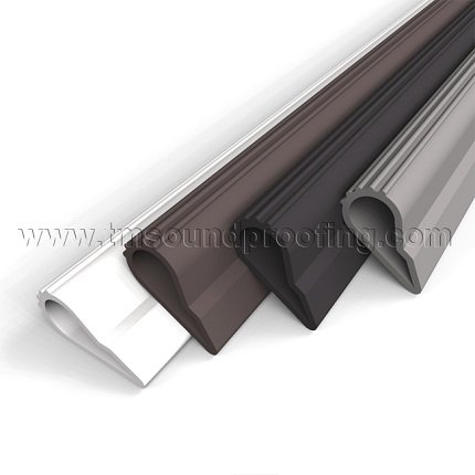 Door Seal ...  sc 1 st  Trademark Soundproofing & Self Adhesive High Quality Silicone Door Seal Weatherstripping ...