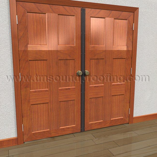 Exceptionnel Astragal With Neoprene Bulb Seal For Double Active Door