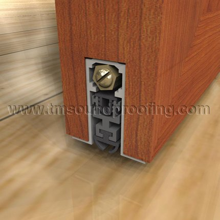 Mortised Basic Automatic Soundproof Door Bottom