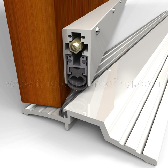 High sound automatic soundproof door bottom