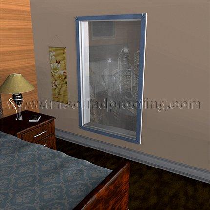 Soundproof Window Panel | TMsoundproofing com