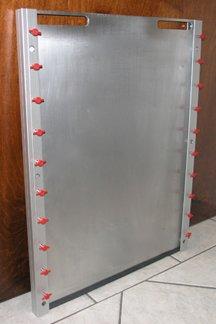 Flood Barrier Shield For Doors
