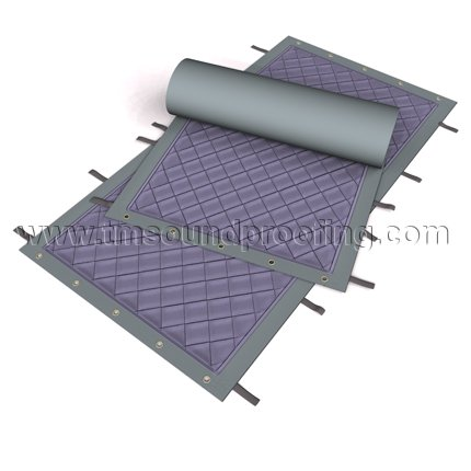 Sound Control Curtain For Construction And Heavy Duty