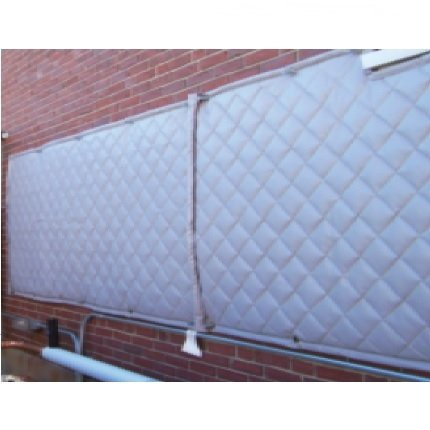 Sound Dampening Quilted Fiberglass Panels Trademark