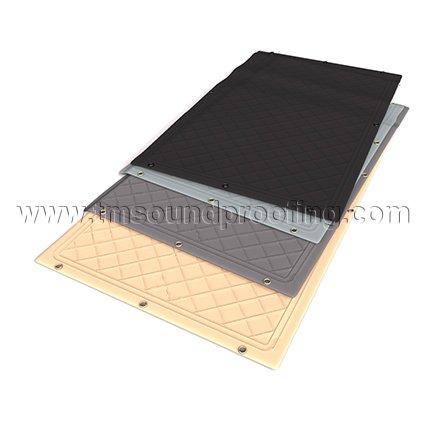 sound reducing windows blinds drape soundproof window panel tmsoundproofingcom