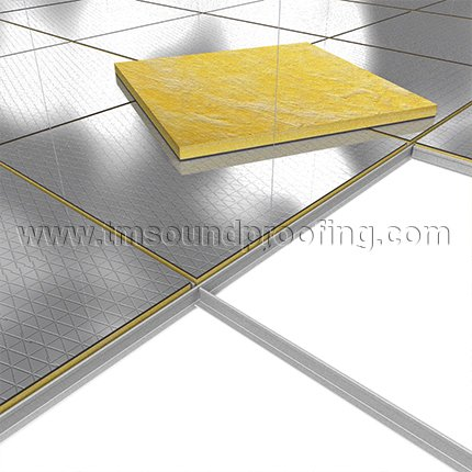 Ceiling tiles sound insulation hbm blog for Best sound barrier insulation