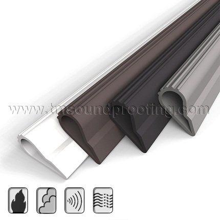 Self Adhesive High Quality Silicone Door Seal Weatherstripping ...