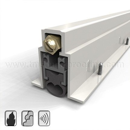 Heavy Duty Automatic Door Bottom - Mortised