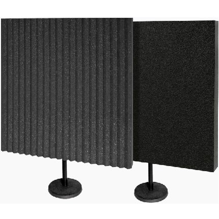 *CLEARANCE - Auralex DeskMAX Stand Mounted Acoustic Panels