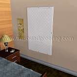 *CLEARANCE Soundproof Window Panel