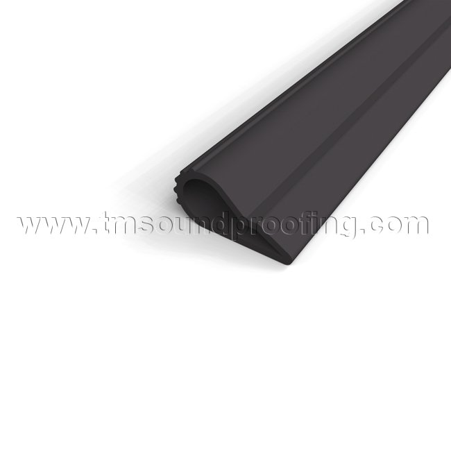 Silicone Double Door Weatherstrip 3 ft L