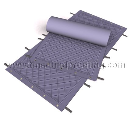 Sound Control Curtain for Construction and Heavy Duty Projects ...