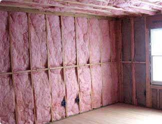 Absorption Can Be Achieved By Installing Fiberglass Of R 11 In 2x4 Walls  And R 19 In 2x6 Walls And Ceilings. Although Fiberglass Is Not A Major  Player, ...
