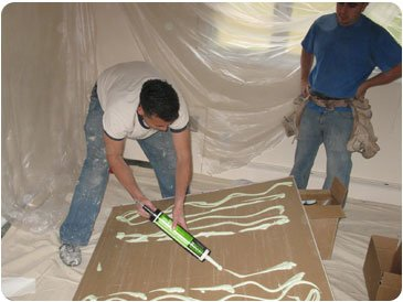 All About Green Glue Damping Compound Trademark