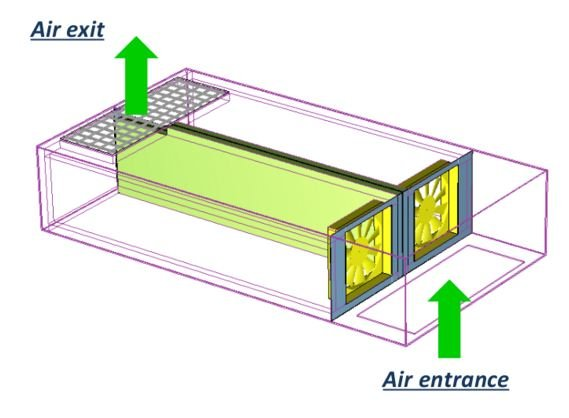ASFT Fan Tray used in AcoustiRack Active