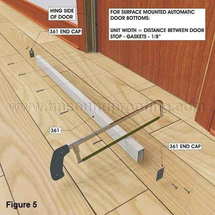 How to soundproof a door detailed instructions for Door gap filler