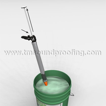 Installing Green Glue Bucket