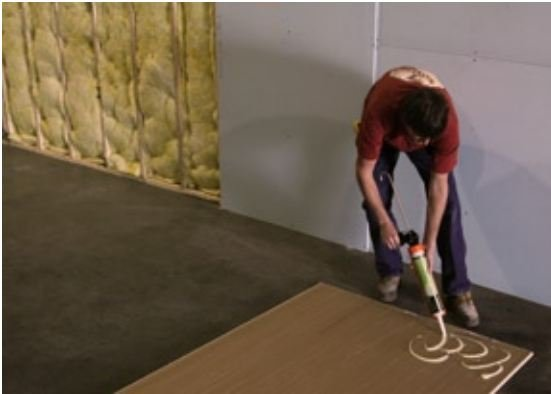 How to Install Green Glue