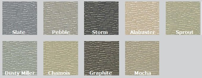 Color Options for Drift - Acoustic Fabrics