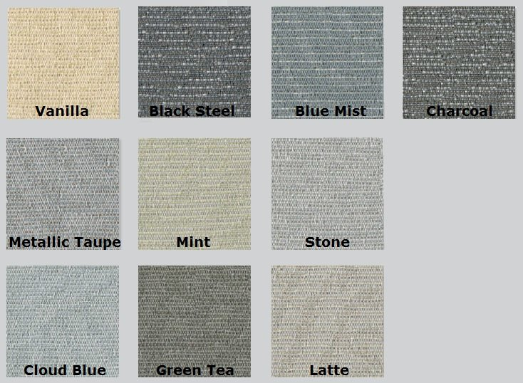 Color Options for Digit Acoustic Fabric