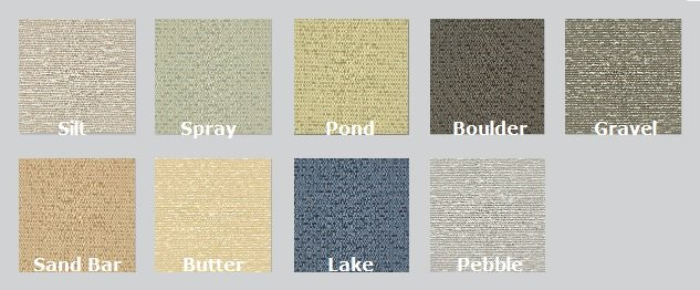 Color Options for Meander - Acoustic Fabric