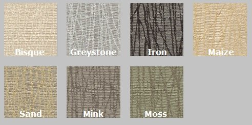 Color Options for Guilford of Maine Reeds