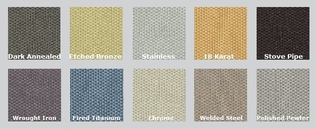 Color Options for Guilford of Maine Metallation - Acoustic Fabric