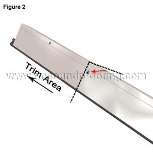 How to Install an Automatic Door Bottom- Figure 1