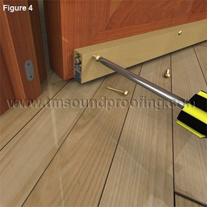 How to Install an Automatic Door Bottom- Figure 4
