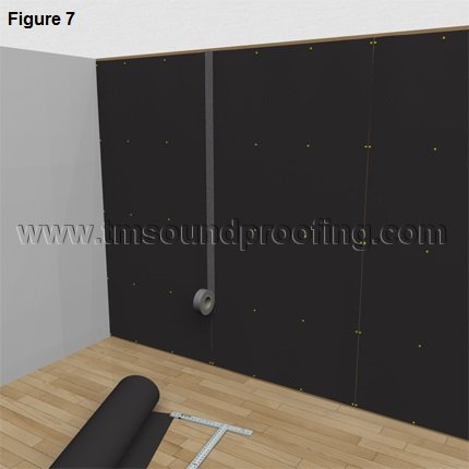 Figure 1- How to Install MLV, www.TMSoundproofing.com
