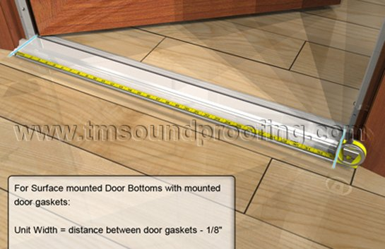 How to Measure for an Automatic Door Bottom