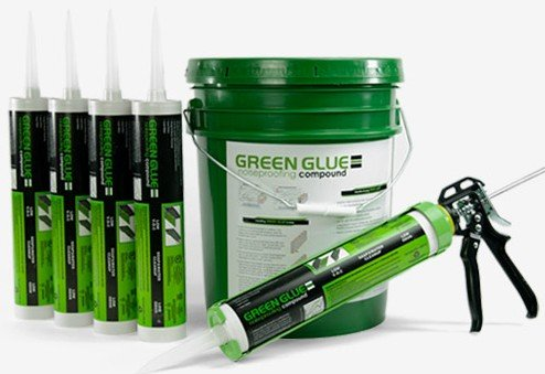 Green Glue Noise-proofing Compound for Soundproofing