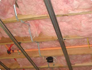 Complete Installation of RSIC Clips and Insulation