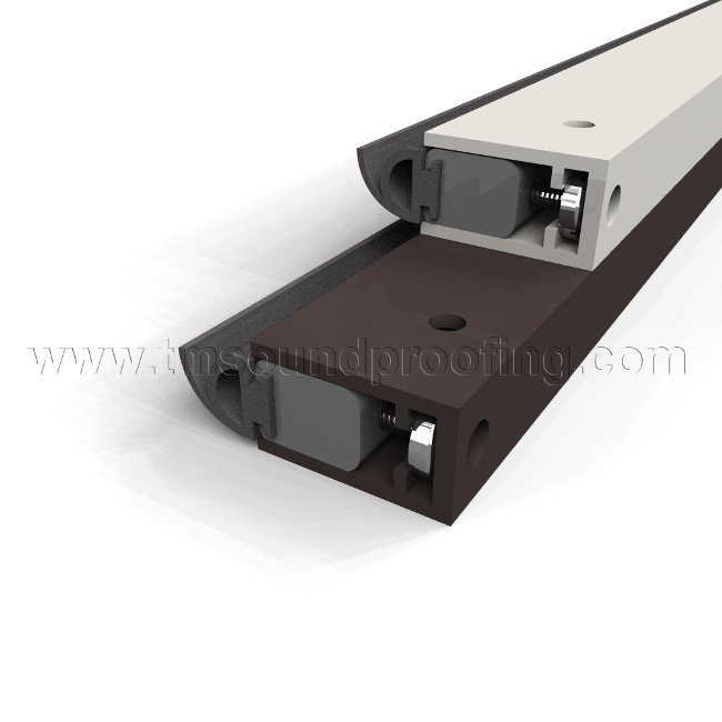 Batwing Shaped Acoustical Weatherstripping