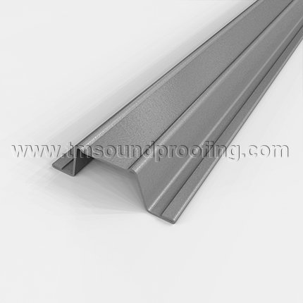 Hat Channels for Applying Soundproofing Products