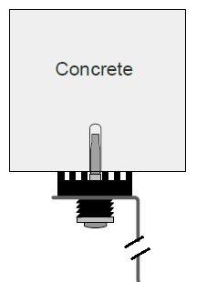 Concrete Framing Installation Diagram
