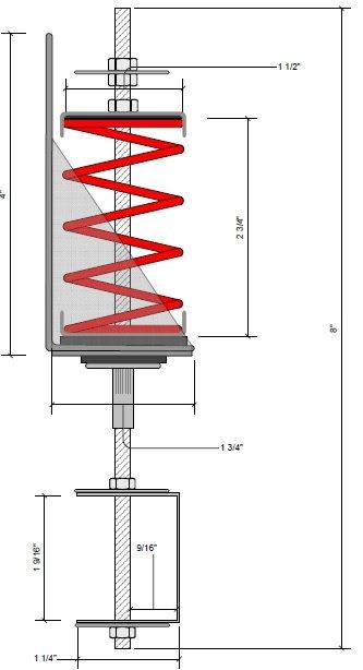 RSIC-SI-CRC Dimensions
