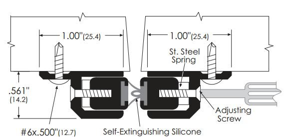 Product Specs for Adjustable Meeting Stile